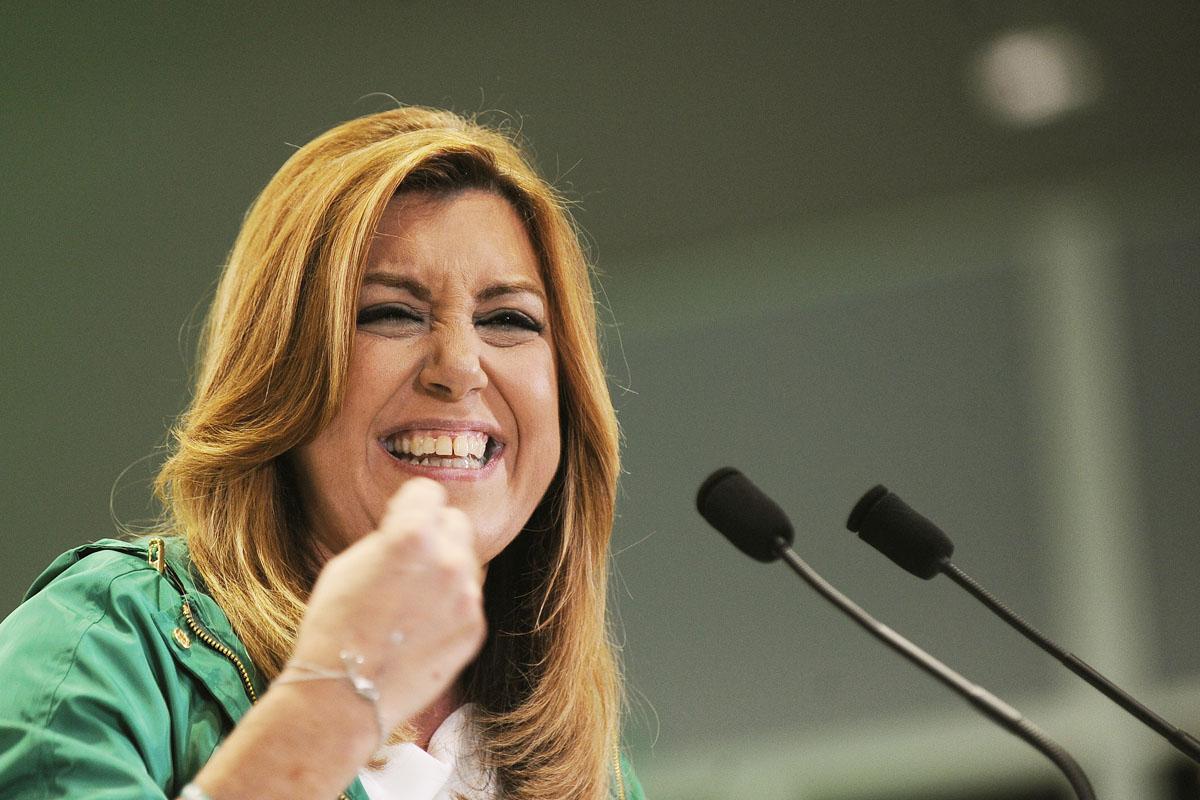 Susana Díaz, presidenta de la Junta de Andalucía. (Foto: AFP)