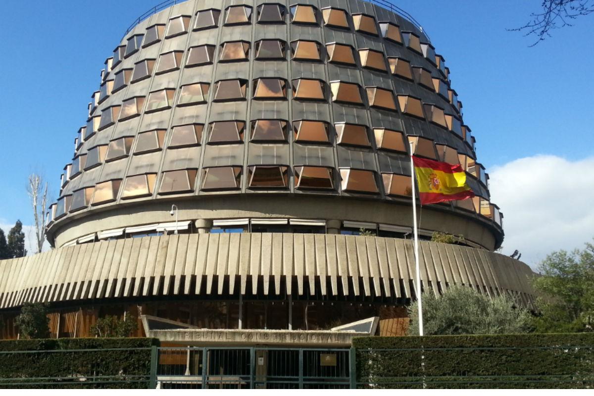 Fachada del Tribunal Constitucional.