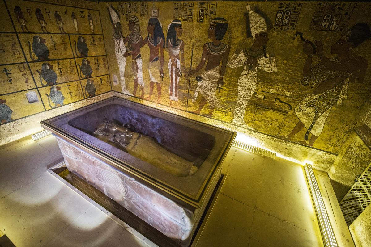 Tumba de Tutankamón en Luxor. (Foto: AFP)