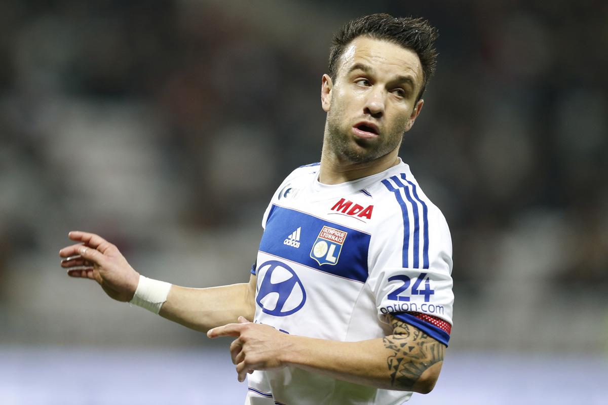 Mathieu Valbuena, jugador del Olympique de Lyon. (Foto: AFP)