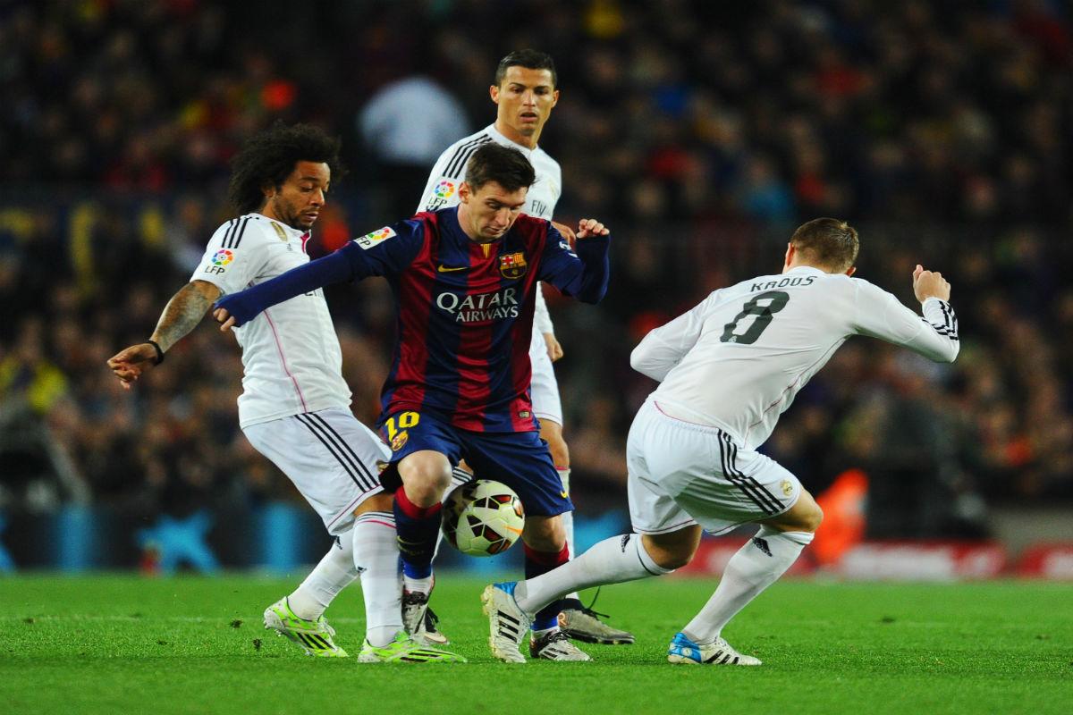 ¿Cómo se puede ver por televisión el Clásico entre Real Madrid y Barcelona?