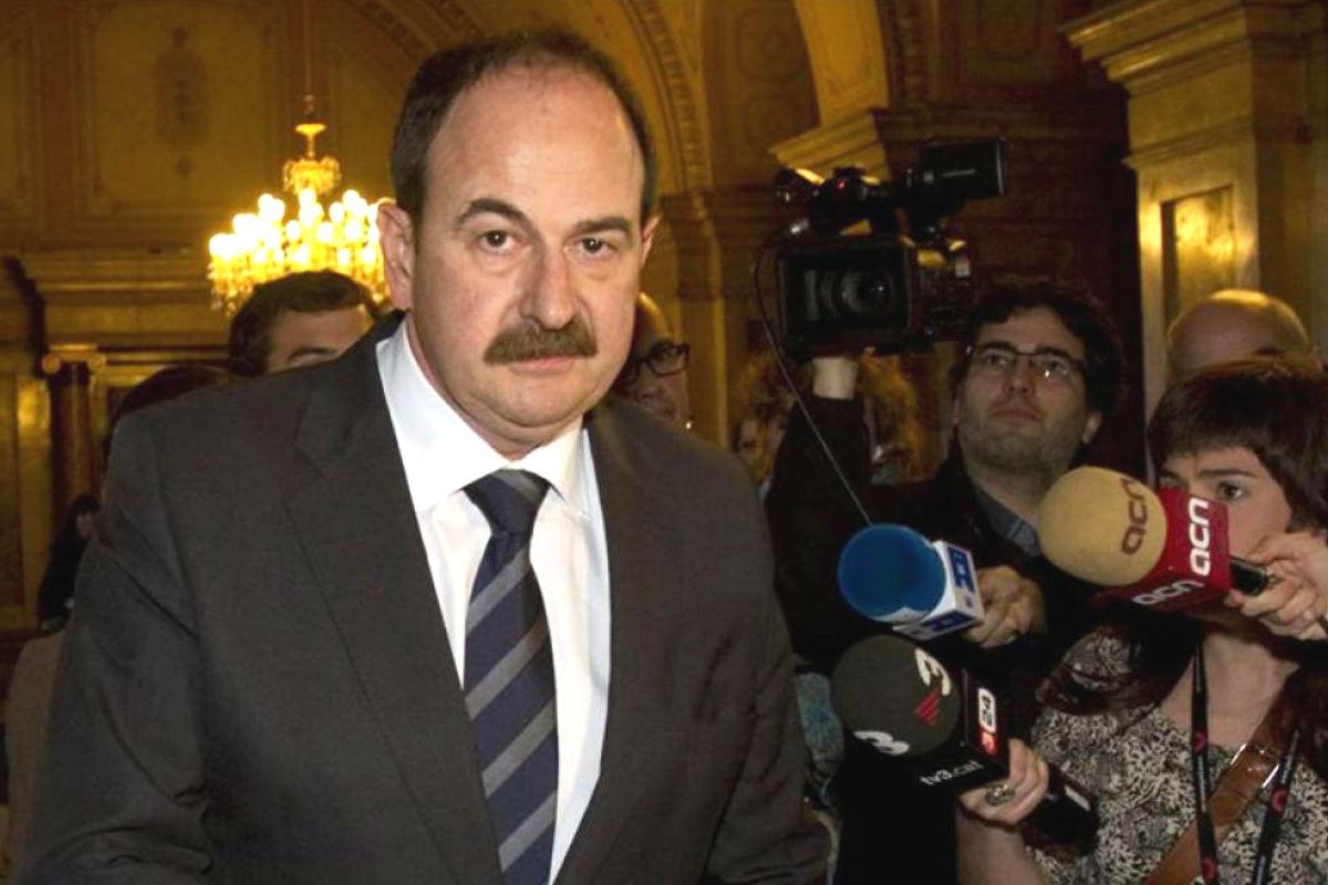 El ex diputado de CDC condenado, Xavier Crespo (Foto: Efe)