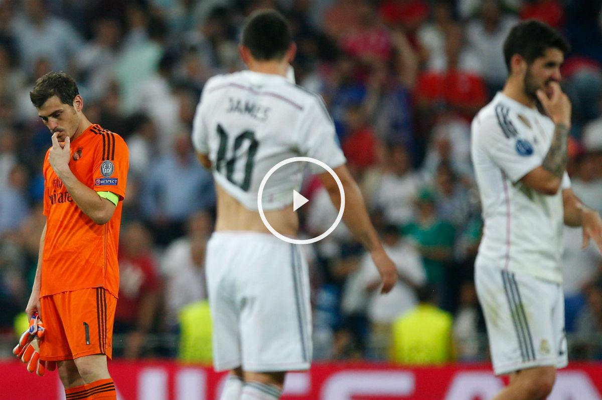 El Real Madrid cierra un año en blanco. (Getty)