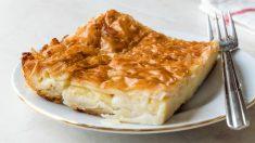 Receta de Hojaldres rellenos de queso de cabra y cebolla caramelizada