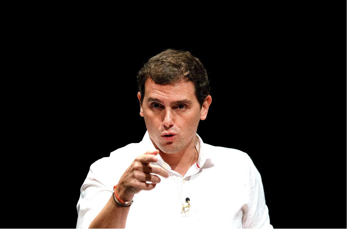El líder de Ciudadanos, Albert Rivera (FOTO:GETTYIMAGES)