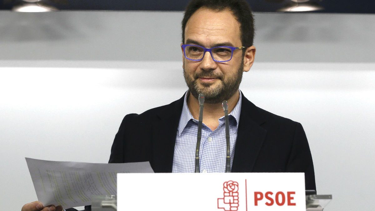 Antonio Hernando, portavoz socialista en el Congreso. (Foto: EFE)