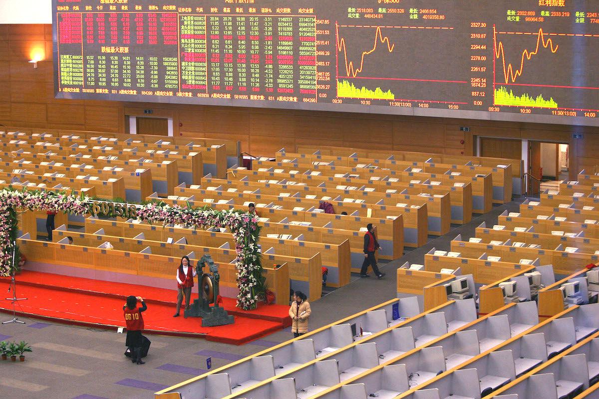 Bolsa de Shanghai (Foto: GETTY)