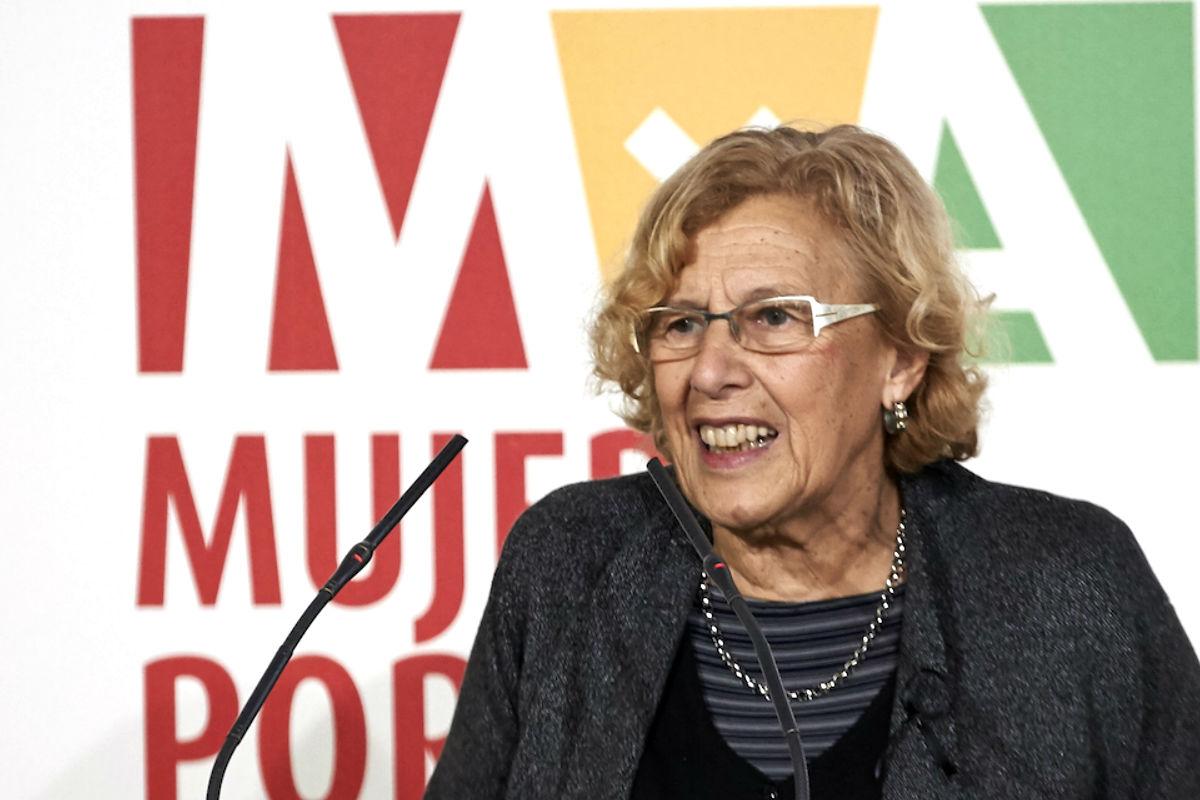 La alcaldesa Manuela Carmena, en un acto de la Fundación Mujeres por África (Foto: Getty)