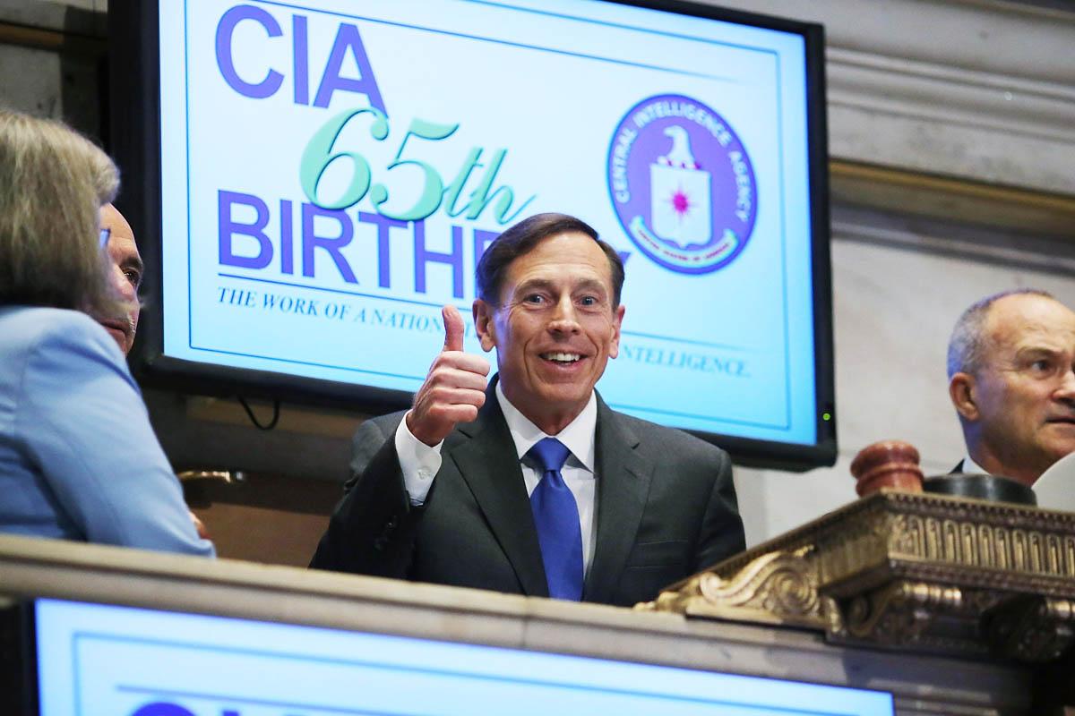 David Paetrus, director de la CIA, durante el 65 aniversario en el año 2012 (Foto: Getty)