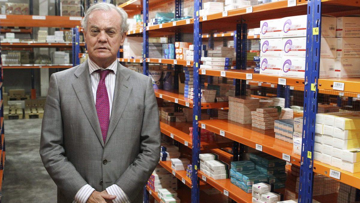 El presidente de Cofares, Carlos González Bosch. (Foto: EFE)