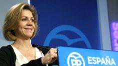 María Dolores de Cospedal en una reciente imagen (Foto: Efe).