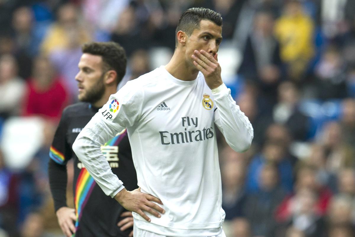 Cristiano vive su peor momento goleador en el Real Madrid desde la 09-10 (AFP)