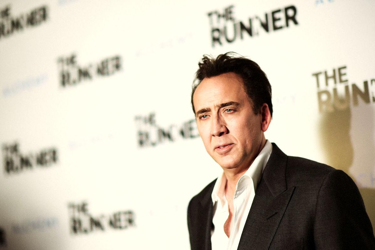 El actor americano Nicolas Cage durante un estreno. (Foto: Getty)