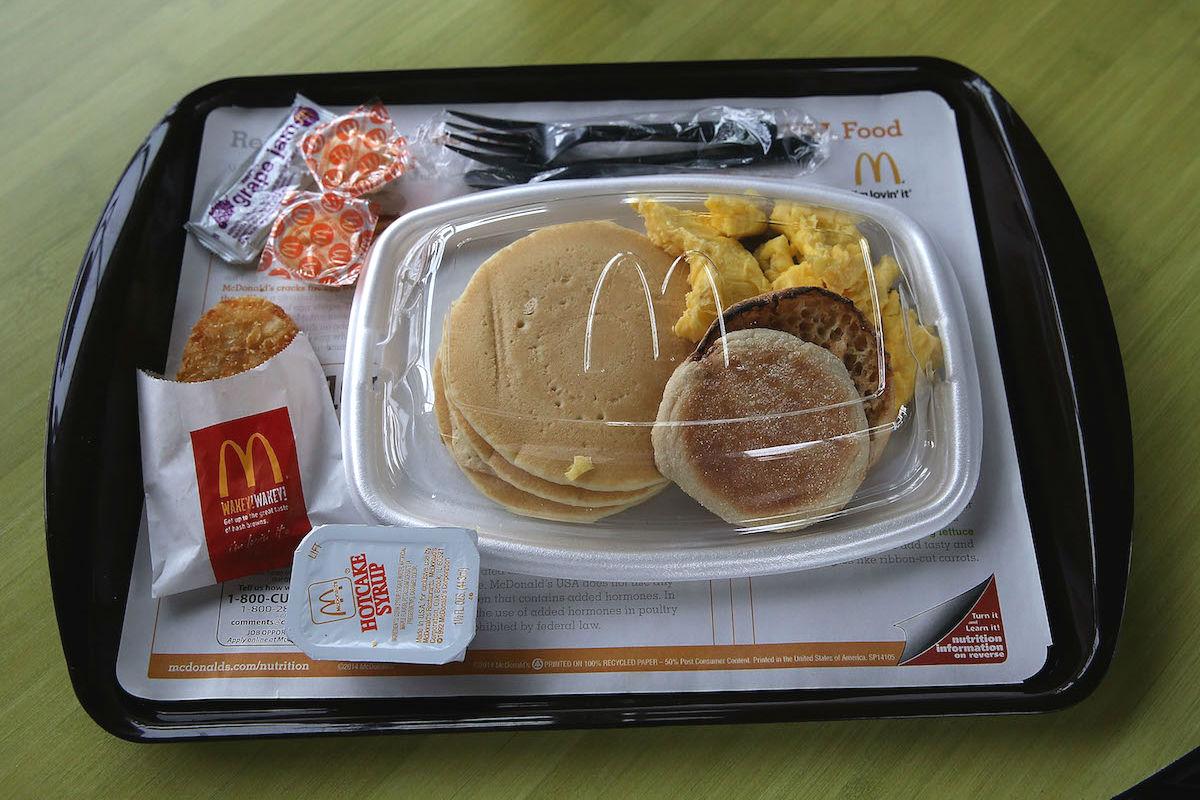 Desayuno ofrecido por McDonald´s (Foto: GETTY)