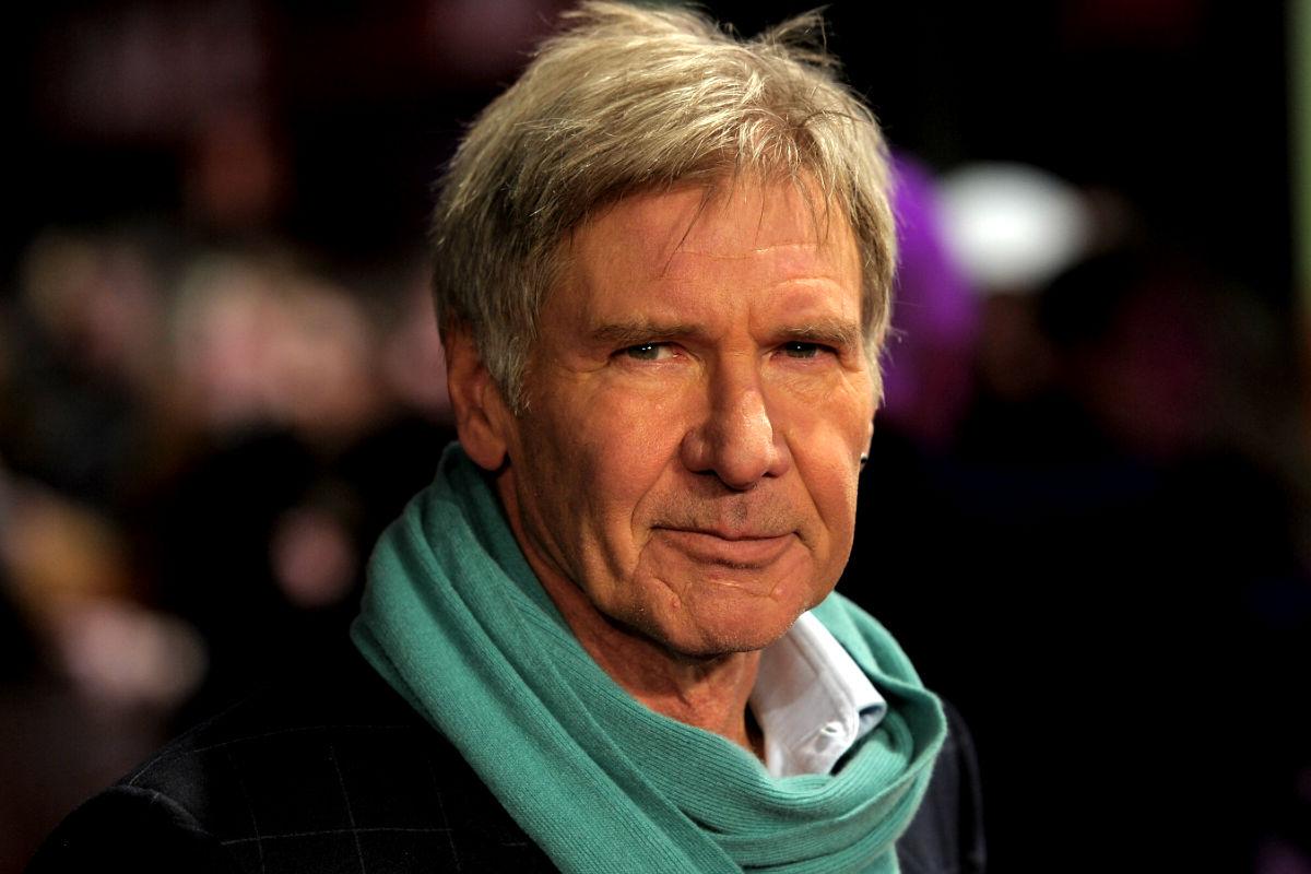 El actor americano Harrison Ford durante un estreno en Londres. (Foto: Getty)