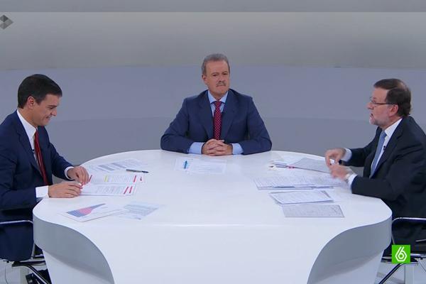 Cara a cara entre Rajoy y Sánchez