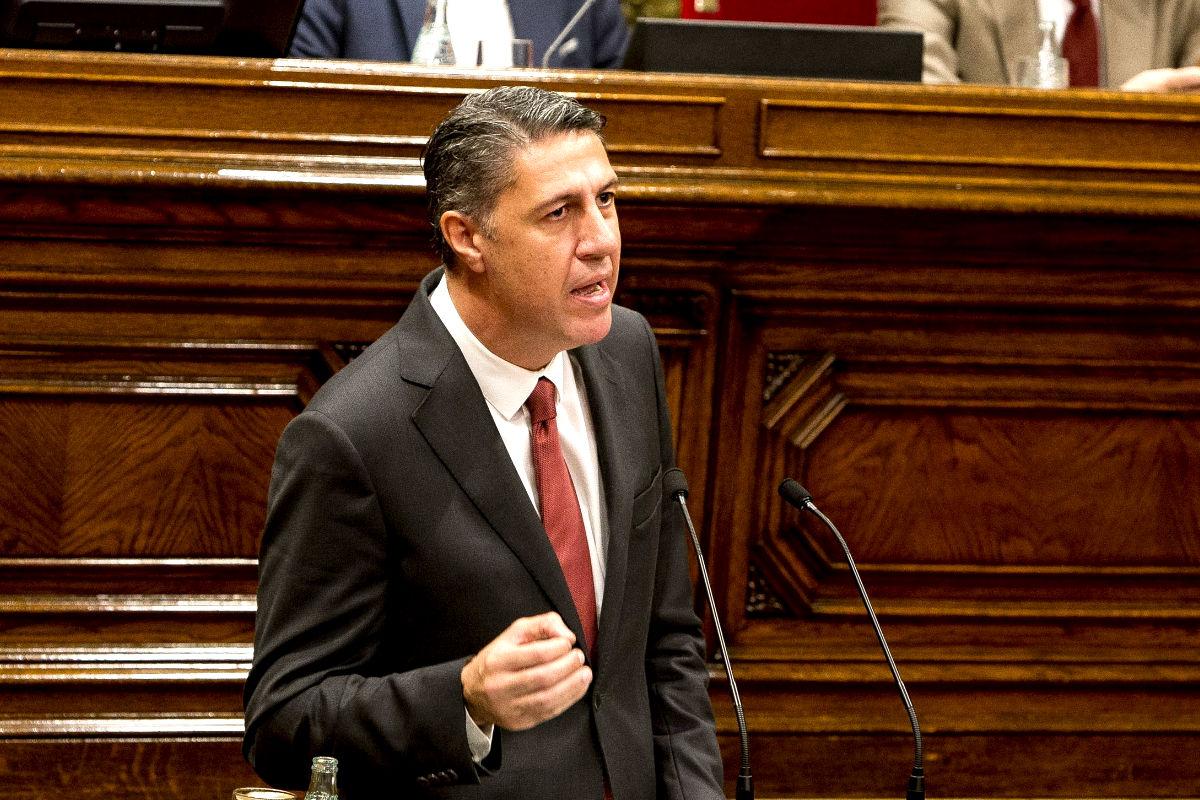 El portavoz del PP en el parlament catalán, Xavier García Albiol (Foto: Getty)