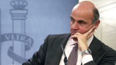 El ministro de Economía, Luis de Guindos. (Foto: EFE)