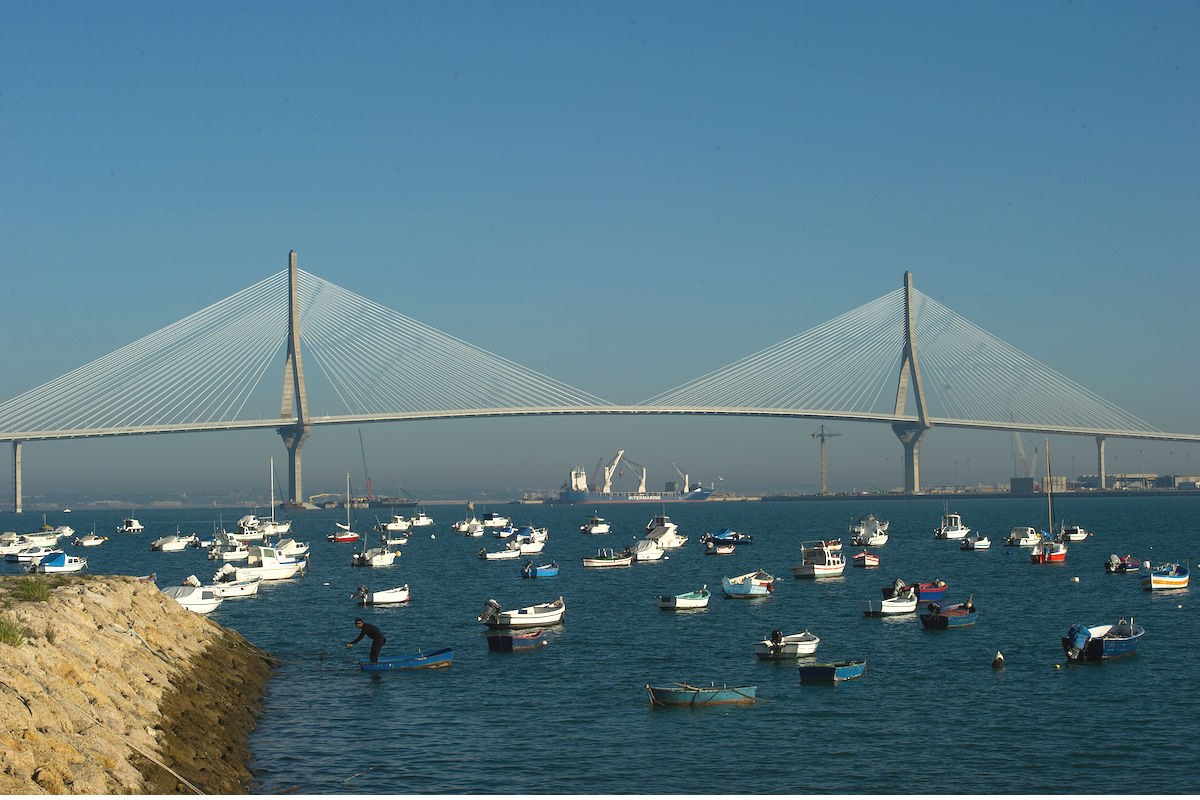 Imagen del flamante puente de Cádiz (Foto: GETTY)