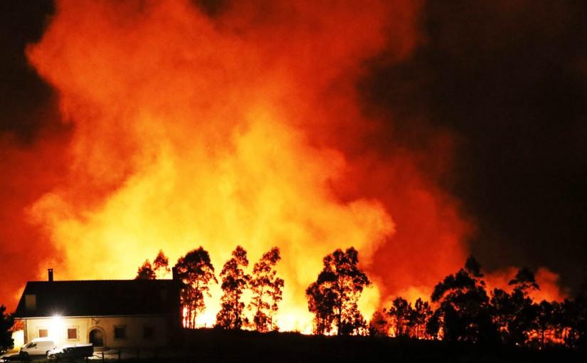 Incendios forestales: se han quemado más de 100.000 hectáreas en 2017, un 40% más que el año pasado