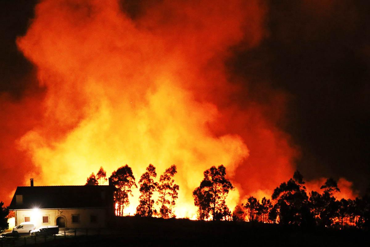 Intensos incendios (Foto: EFE)