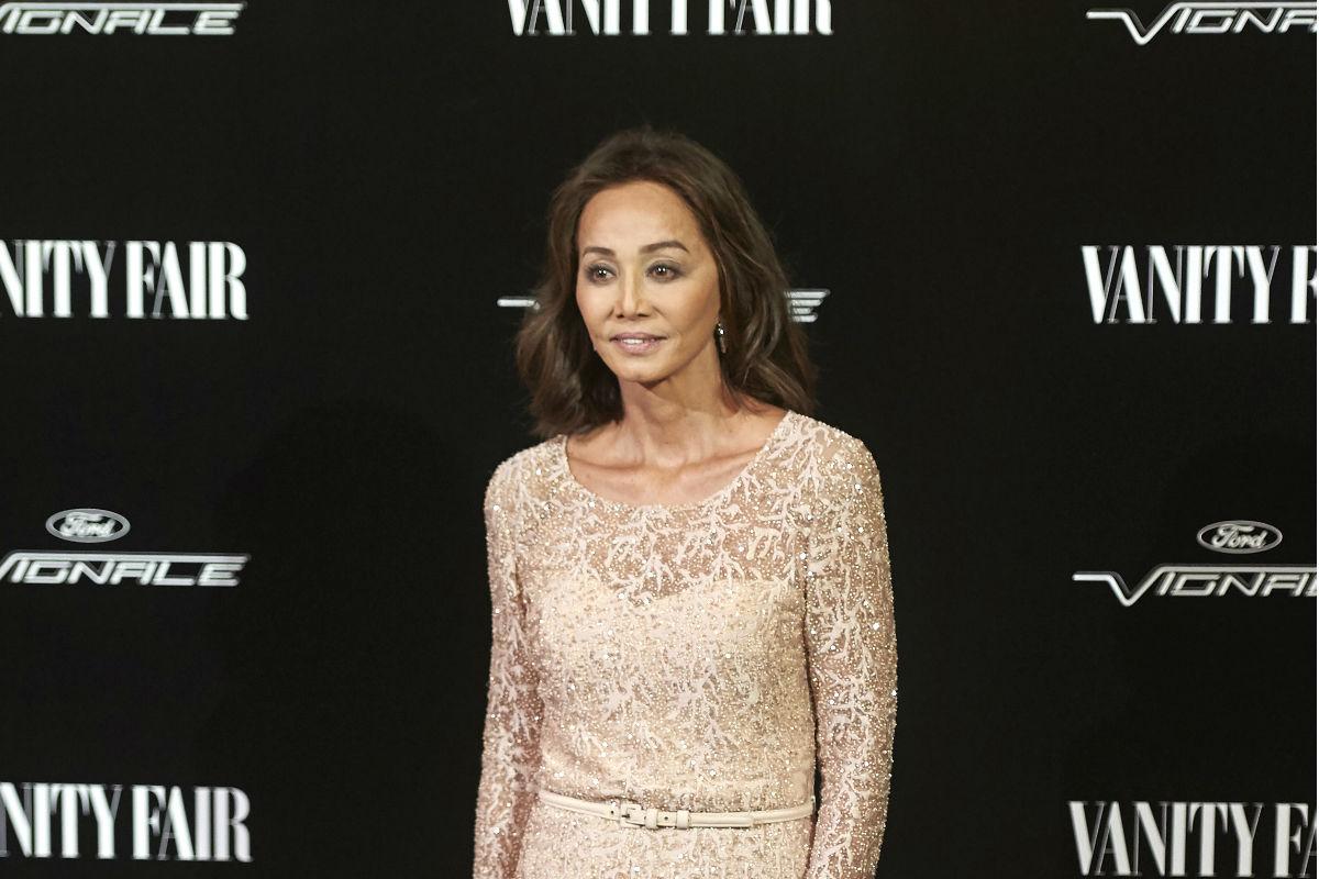 Isabel Preysler durante una gala celebrada por la revista Vanity Fair en Madrid (Foto: Getty)