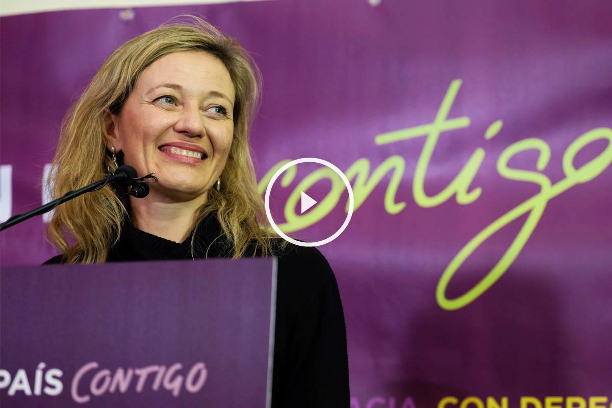 La jueza en excedencia Victoria Rosell es nueva diputada por Podemos. (Foto:EFE)