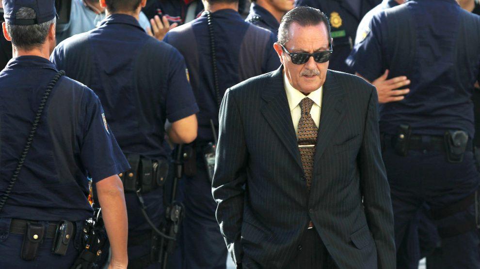 El ex alcalde de Marbella, Julián Muñoz, acude a los Juzgados a declarar (Foto: Getty)