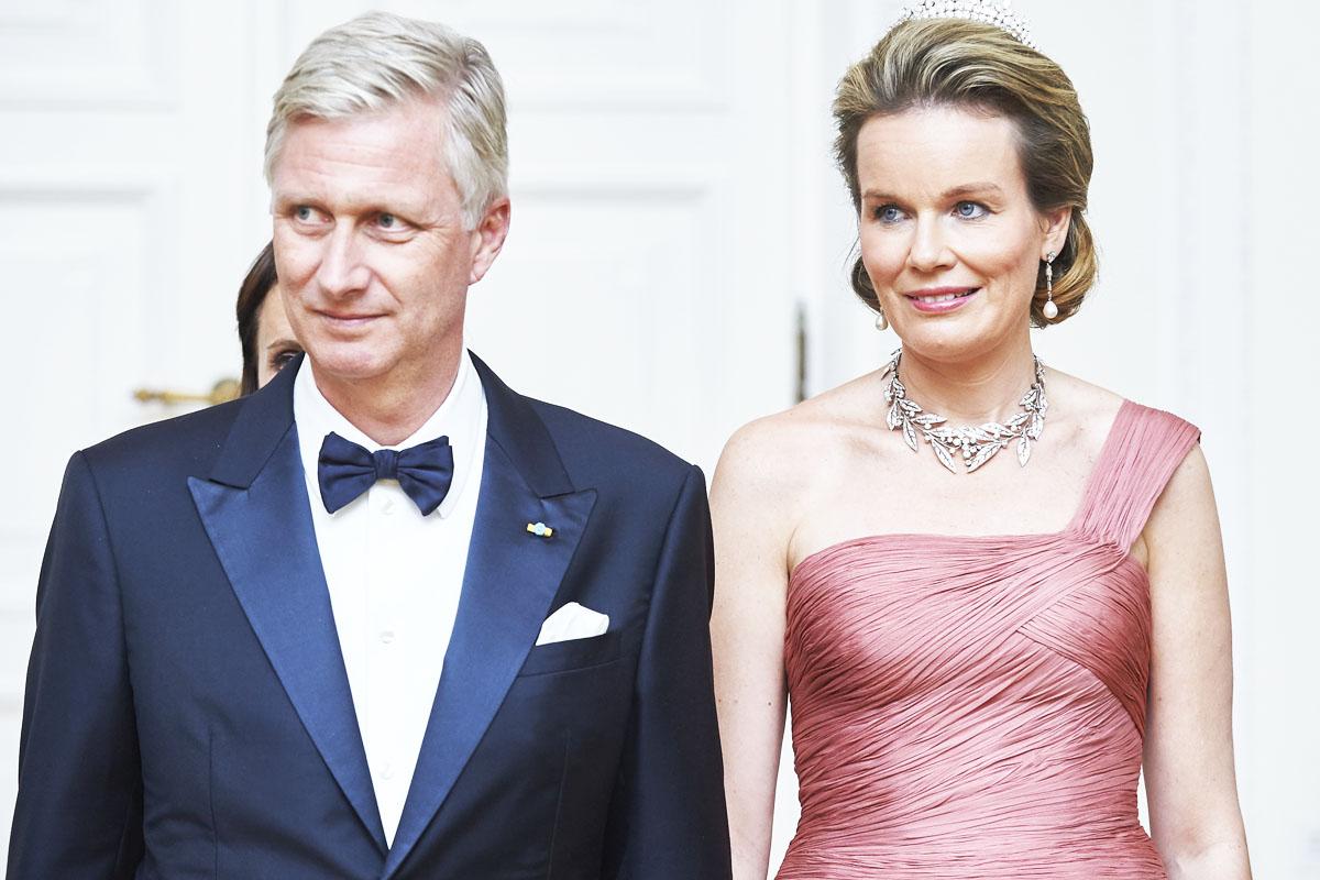 El Rey Felipe de Bélgica, con su mujer la reina Matilde (Foto: Getty)