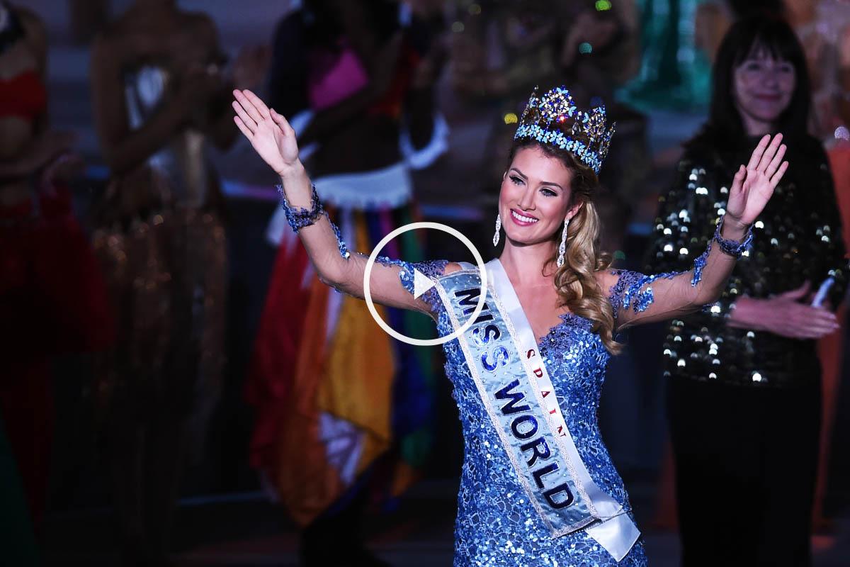 Mirela Lalaguna, nueva Miss Mundo (Foto: AFP)