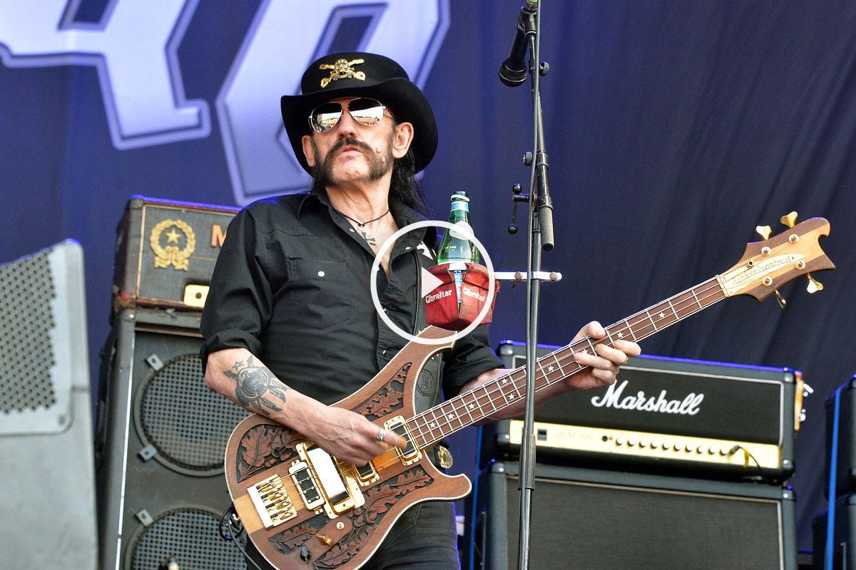 Lemmy Kilmister, líder de Motörhead. (Foto: AFP)