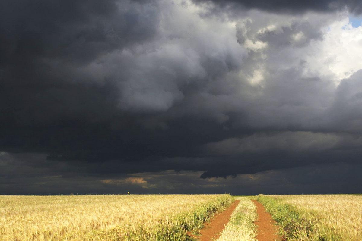 Las precipitaciones en España en 2015 han sido sensiblemente inferiores a las de años anteriores.  (Foto: AEMET)