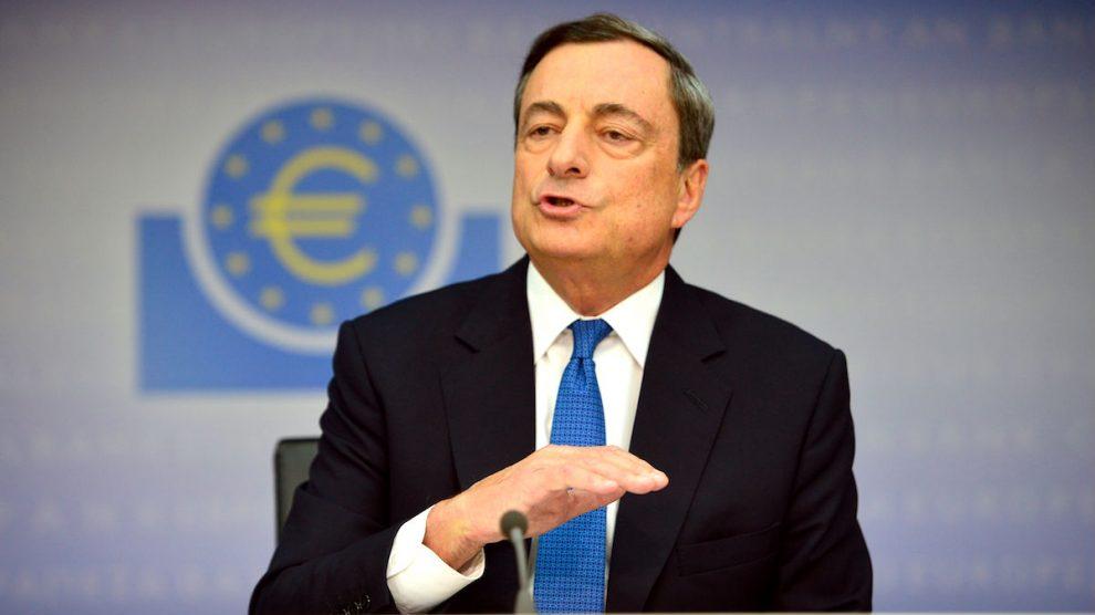 El presidente del BCE, Mario Draghi. (Foto: EFE)