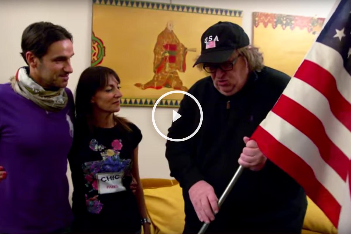 Tráiler del nuevo documental de Michael Moore.