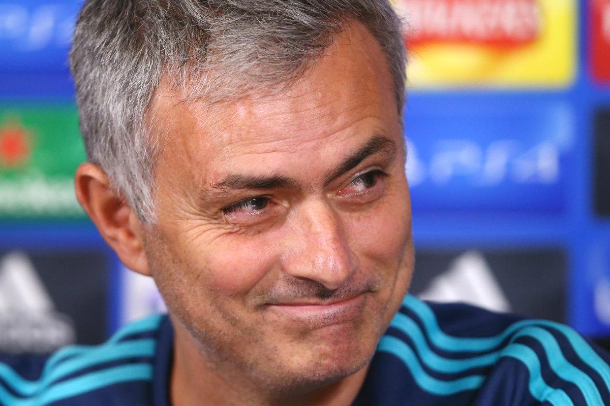 Mourinho, en una de sus últimas apariciones con el Chelsea.