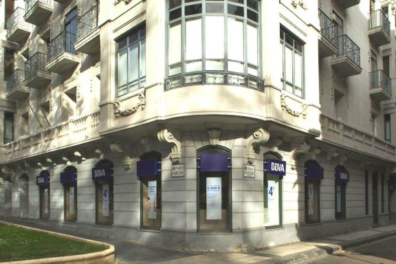 Un edificio gestionado por Merlin Properties.