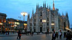 Imagen de la ciudad italiana de Milán.