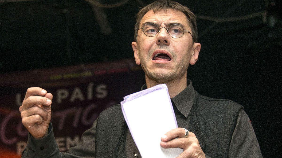 Juan Carlos Monedero, cofundador de Podemos. Foto: EFE