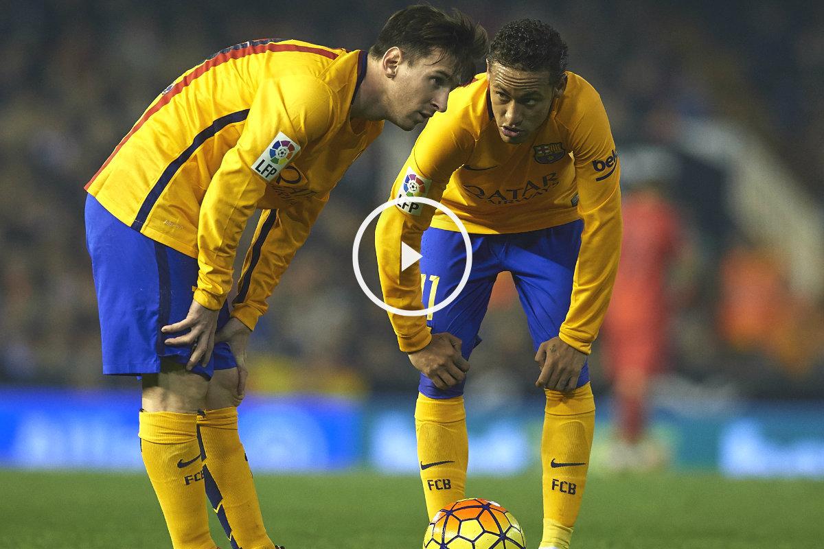 Messi y Neymar están de regreso para alegría de Luis Enrique.