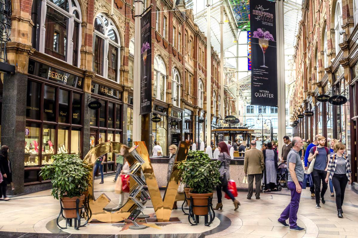 Un centro comercial. (Foto: Getty/iStock)