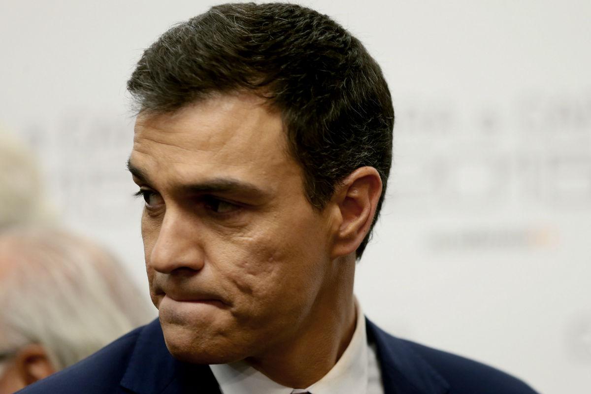 El secretario general del PSOE, Pedro Sánchez. (FOTO:EFE)