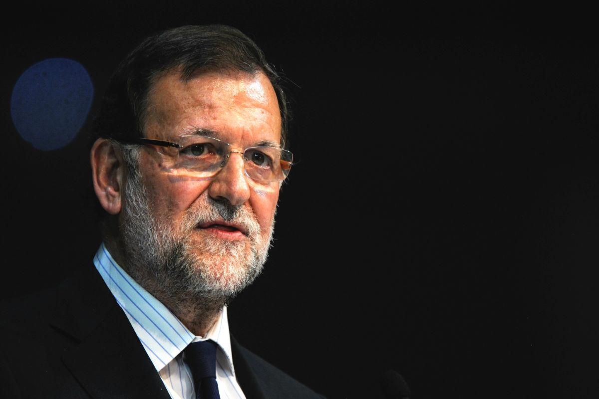 Mariano Rajoy saliendo de un acto. (FOTO:Gettyimages)