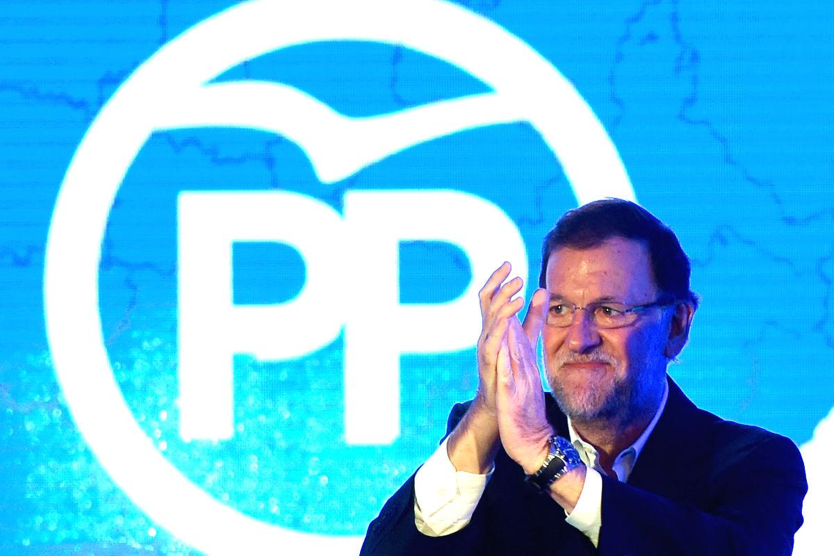 Mariano Rajoy en un acto del Partido Popular. (FOTO:Gettyimages)