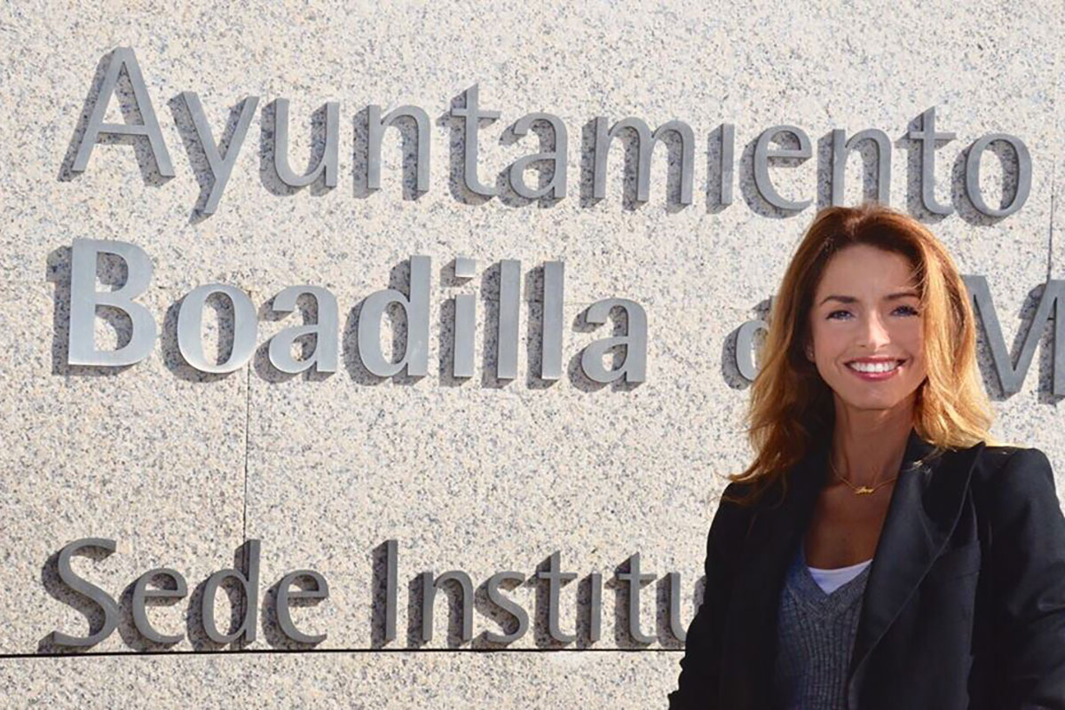 Patricia Reyes, candidata de Ciudadanos al Congreso.