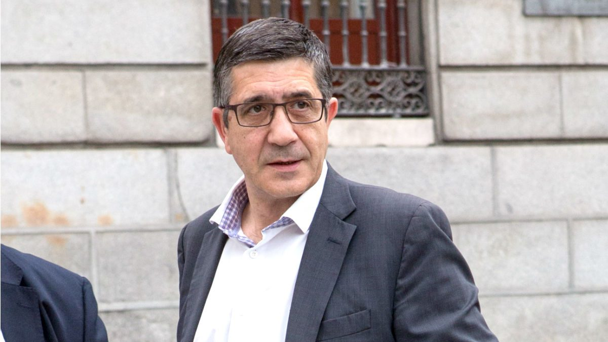 Patxi López. (Foto: Getty)