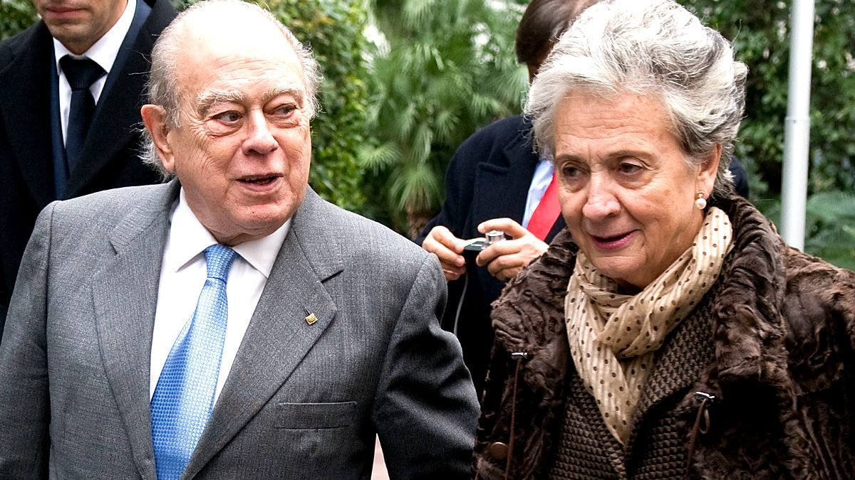 Jordi Pujol y Marta Ferrusola. (Foto: Getty)