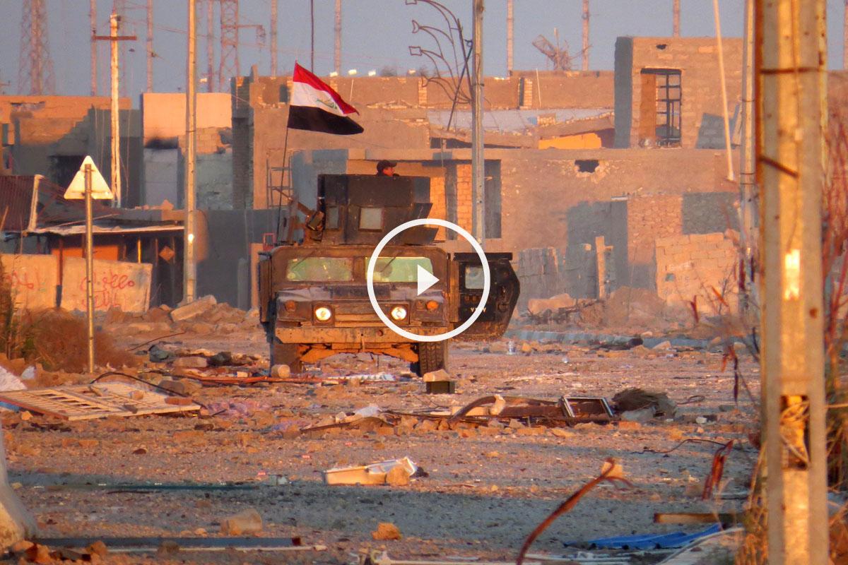 El ejército iraquí entra en Ramadi. (Foto: AFP)