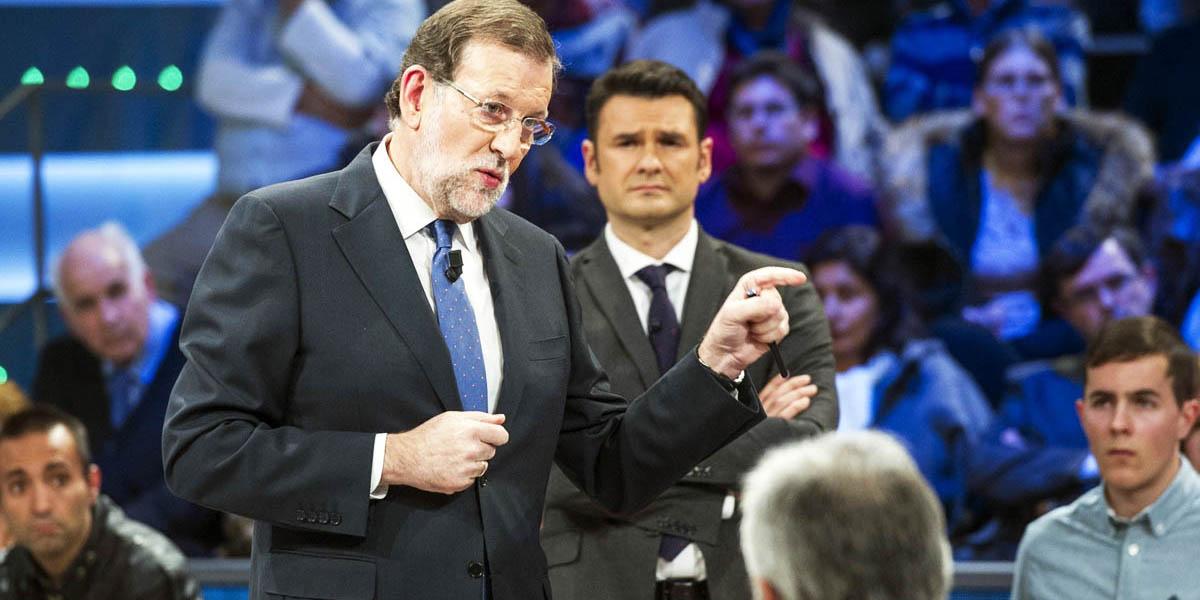 Mariano Rajoy, durante su aparición en LaSexta Noche (Foto: EFE)