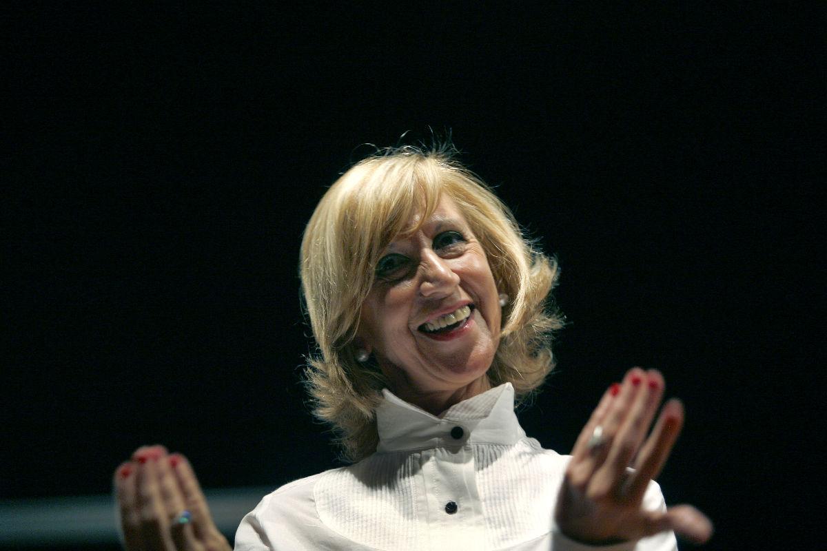 La fundadora de UPyD, Rosa Díez. (Foto: AFP)