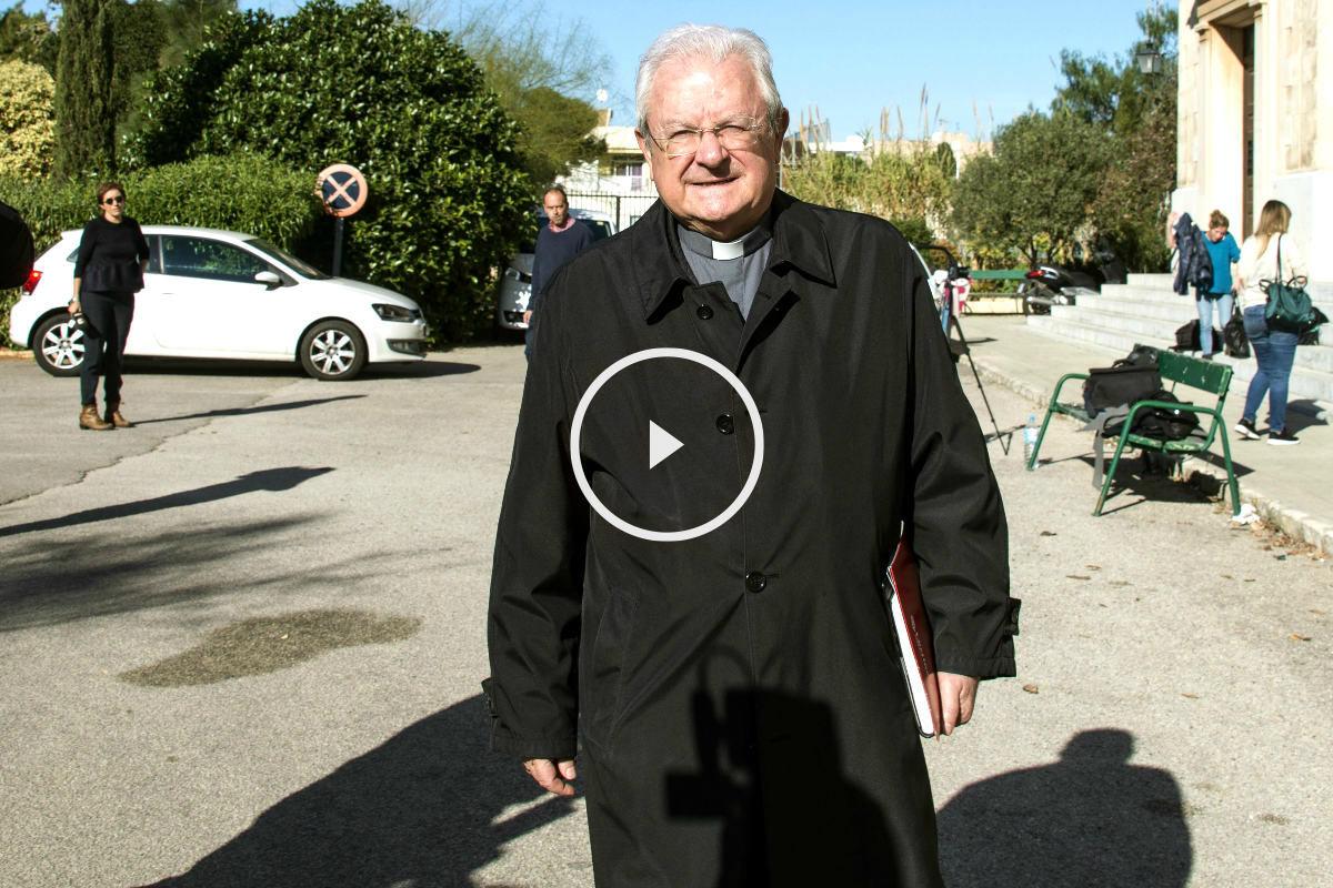 El obispo de Mallorca, Javier Salinas (Foto: Efe).